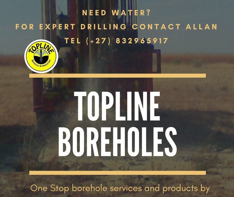 Topline Borehole and Irrigation in Gauteng offers a One Stop Solution for all your water needs, Domestic, Commercial and Agricultural.